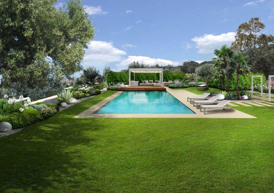 Il giardino mediterraneo a Cosenza