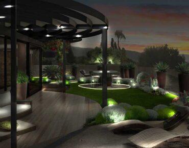 giardino pensile notte