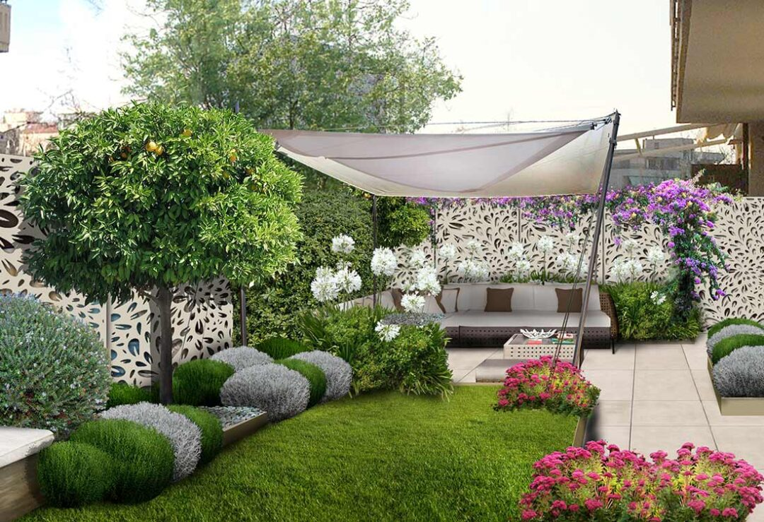 La privacy in giardino
