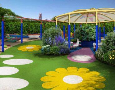 giardino terapeutico area riabilitativa