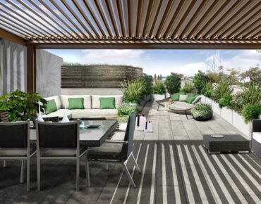 terrazzo verde