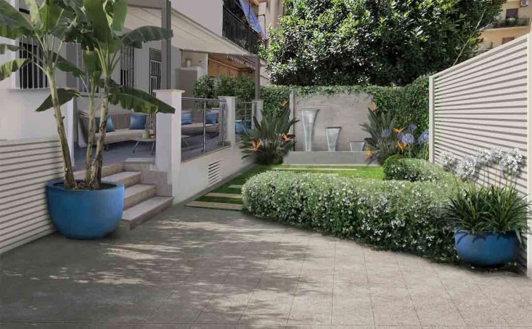 giardini in sicilia con fontana