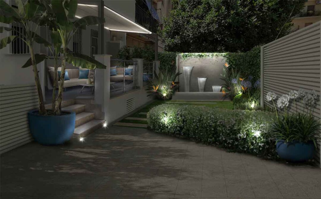 giardini con fontana