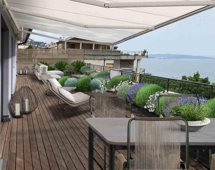 terrazzo ventoso Trieste