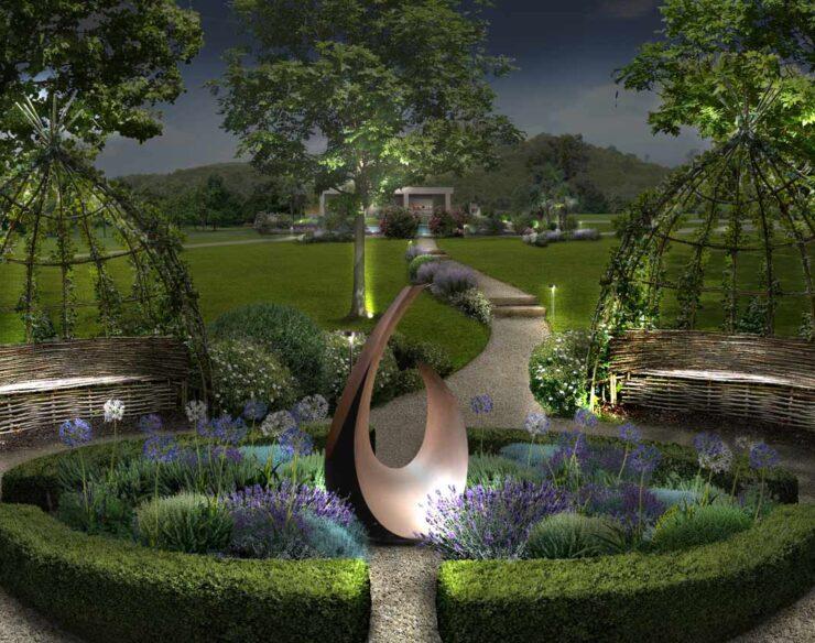giardino dei profumi di notte