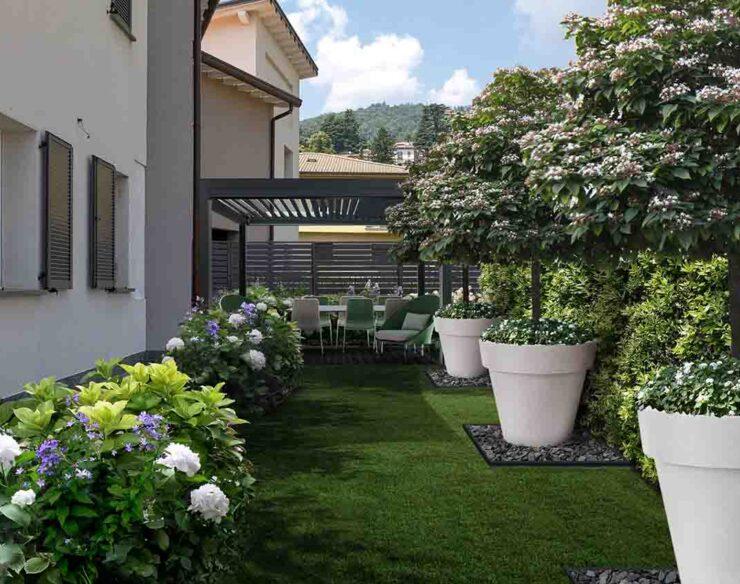 giardino a Como