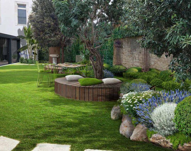 giardino moderno antico bari
